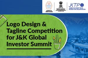 Logo Design & Tagline Competition for J&K Global Investor Summit [Prizes worth Rs. 20K]: Submit by Dec 5