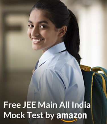 Free All India JEE Main Mock Test by Amazon [Dec 27]: Registrations Open