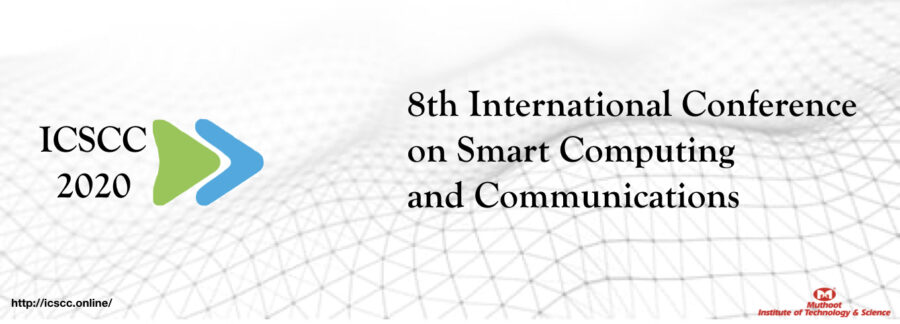 CfP: Conference on Smart Computing and Communication at MITS, Ernakulam  [Jul 2-4]: Submit by Feb 23: Expired