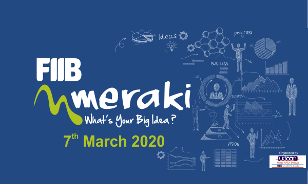 Meraki 2020: B-Plan Competition at Fortune Institute of International Business, New Delhi [March 7, Prizes Worth Rs. 3L]: Register by Jan 15