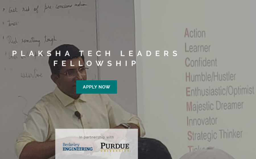 Plaksha Tech Leaders Fellowship