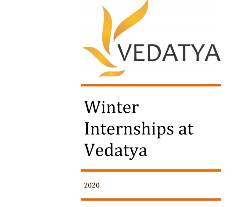 Vedatya winter internship 2020