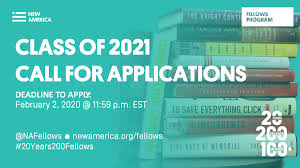 National Fellows 2021 by New America, USA: Apply by Feb 2