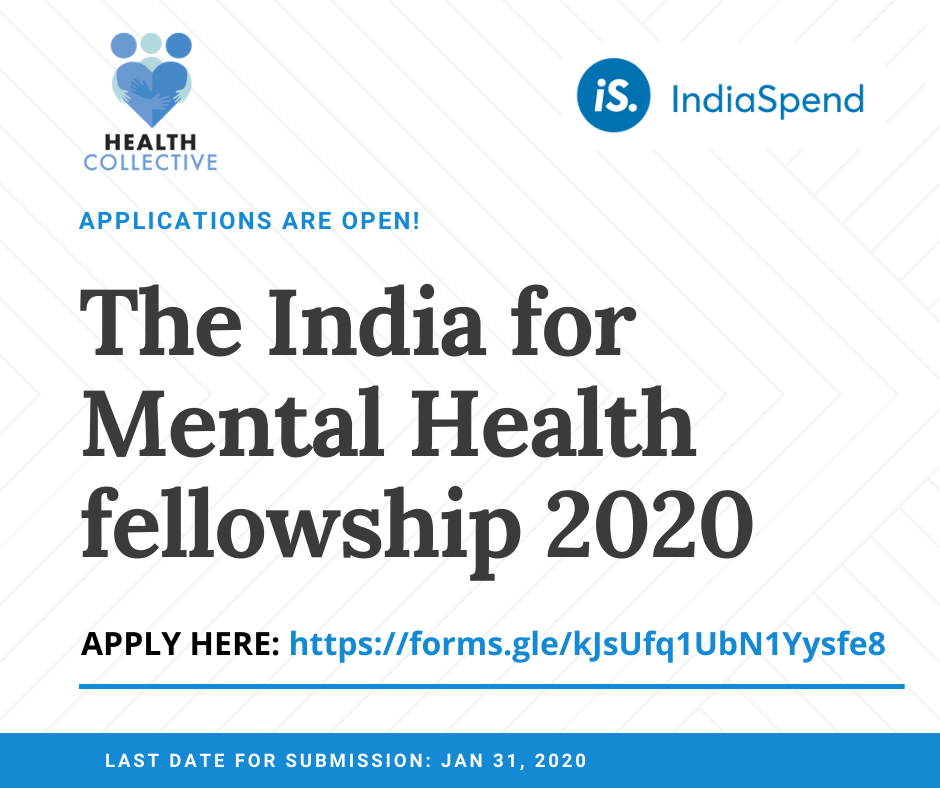 Call for Applications: India for Mental Health Fellowship 2020: Apply by Jan 31