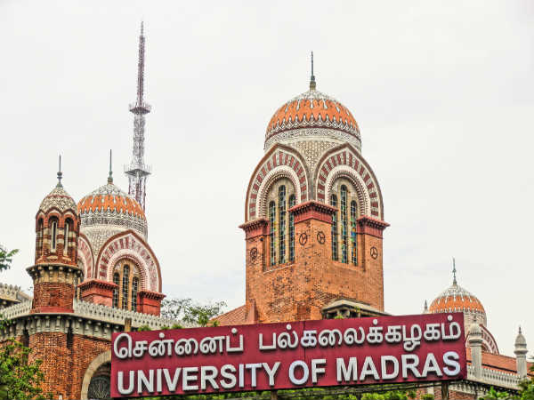 University of Madras workshop 2020