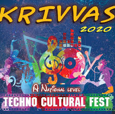 KRIVVAS 2020: National Techno Cultural Fest at Sona College of Technology, Salem [March 6-7]: Register by Feb 29