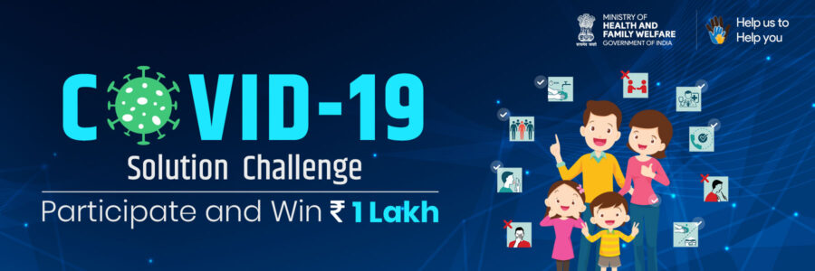 COVID 19 Solution Challenge by Govt. of India [Prizes Upto Rs. 1.75L]: Register by March 31
