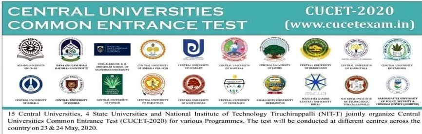 Central Universities Common Entrance Test CUCET 2020: Apply by June 6 [Extended]