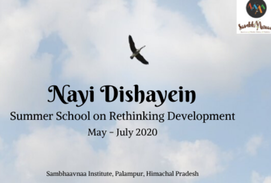 Nayi Dishayein Summer School Sambhaavna Institute Palampur