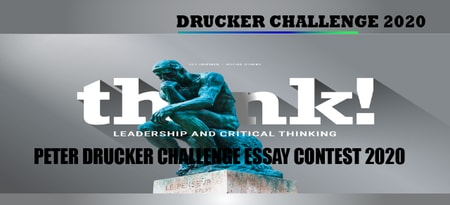 Peter Drucker Challenge Essay Contest 2020 by Global Peter Drucker Forum: Submit by May 24