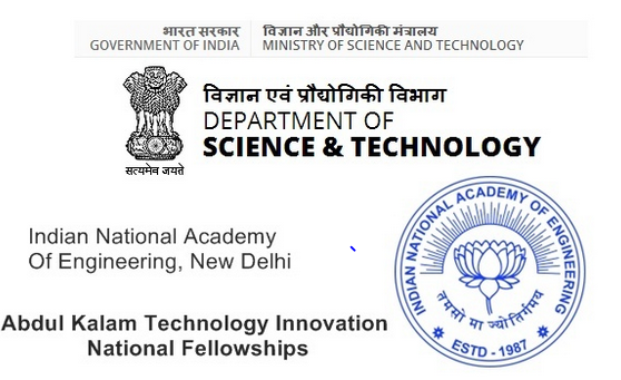 Abdul Kalam Technology Innovation National Fellowship 2020 [Grants Upto Rs. 15L]: Apply by June 30