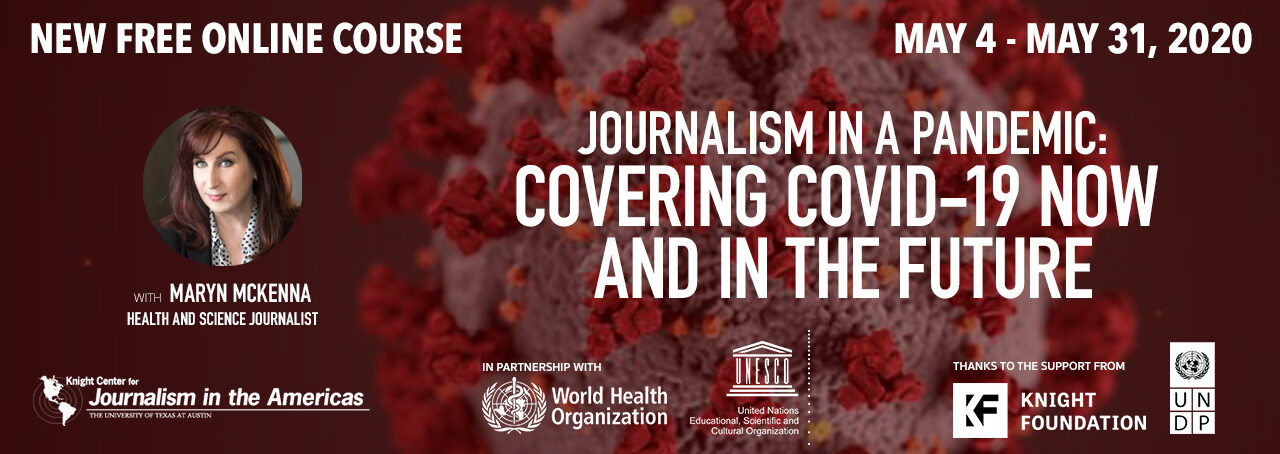 Knight Centre Free online course for journalists 2020