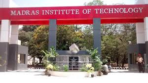 Madras Institute of Technology Chennai job