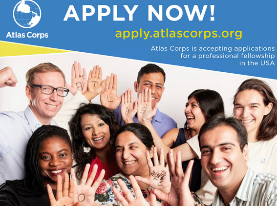 Atlas Corps Fellowship for Social Change Leaders at USA [Travel Cost+Stipend]: Apply by May 1