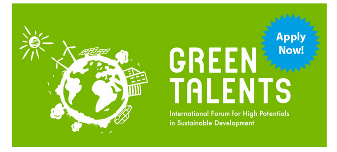 Green Talents Competition 2020 for Young Researchers [Win a Fully Funded Trip to Germany]: Apply by May 19