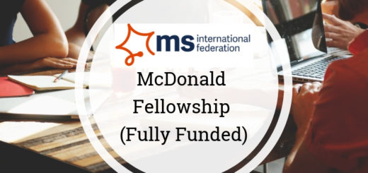 McDonald Fellowship Programme 2020 for Young Researchers [Grants Upto Rs 28L]: Apply by Jun 30