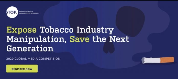 Expose Tobacco Industry Manipulation Global Media Competition 2020