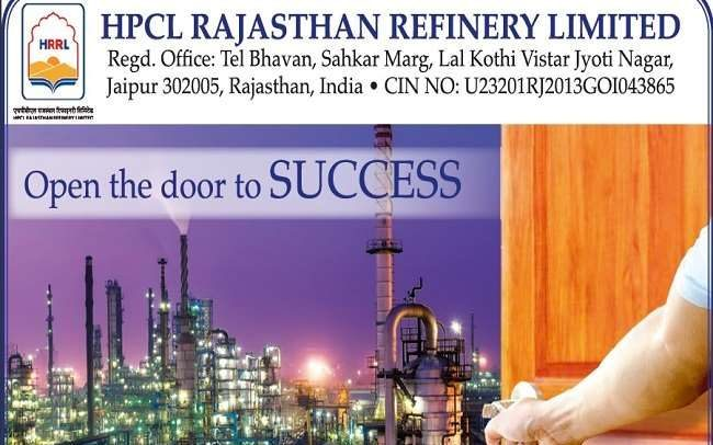 HRRL HPCL Rajasthan Engineer jobs