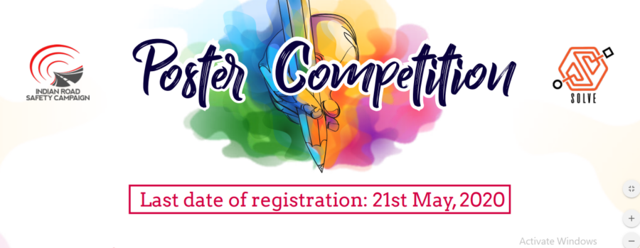 Call for Entries: Poster Competition by India Road Safety Campaign: Submit by May 21