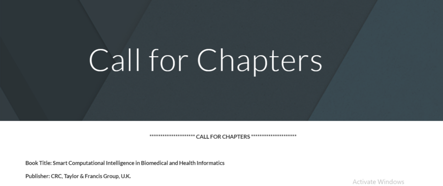 Call for chapters 2020