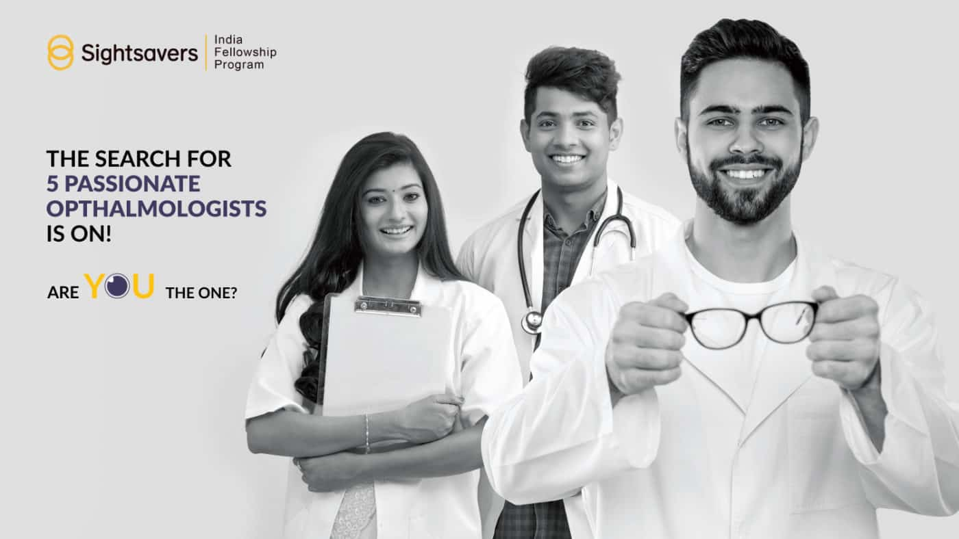 Sightsavers India Fellowship Program 2020[ Monthly Stipend Rs. 35K]: Apply by May 31