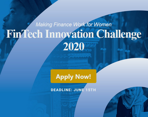 FinTech Innovation Challenge 2020 by Women's World Banking, USA [Grants Upto Rs. 1.5Cr]: Apply by June 15