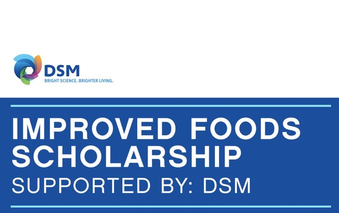 One Young World DSM Improved Foods Scholarship