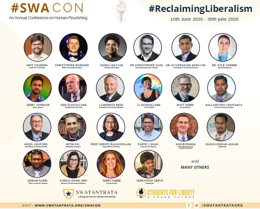 SWACON: Annual Conference on Human Flourishing [June 10-July 4]: Registrations Open