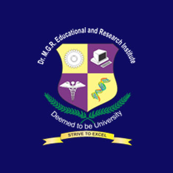 dr mgr educational research institute chennai india
