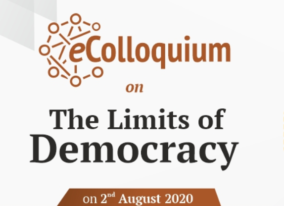 eColloquium onThe Limits of Democracy by Centre for Civil Society [Aug 2]: Apply by July 4: Expired