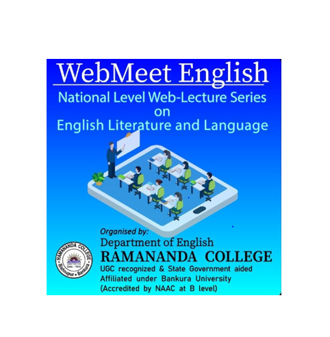 Free Web-Lecture Series on English Literature & Language by Ramananda College, West Bengal [June 8-17]: Registrations Open