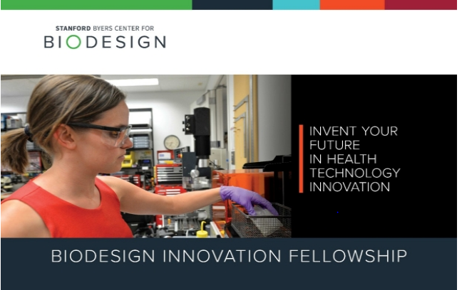 Stanford Biodesign Innovation Fellowship 2021 [Monthly Stipend Upto Rs. 4L]: Apply by Aug 14