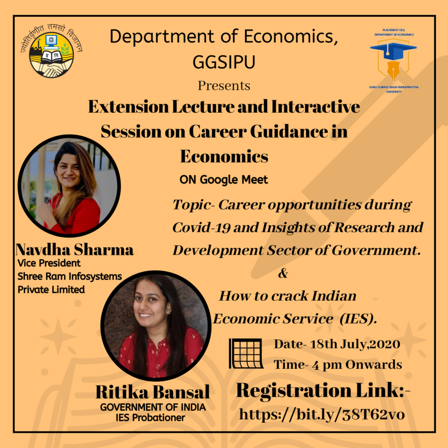 webinar on careers in economics