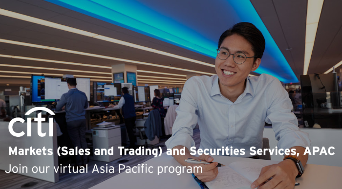 Citi Asia Virtual Internship