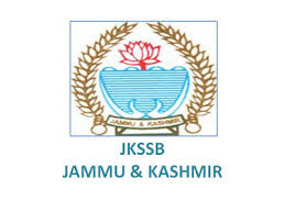 J&K Services Selection Board Recruitments