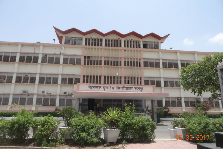 Junior Research Fellow Under RUSA-MHRD Funded Research Project by Mohanlal Sukhadia University, Udaipur: Apply by Dec 5: Expired
