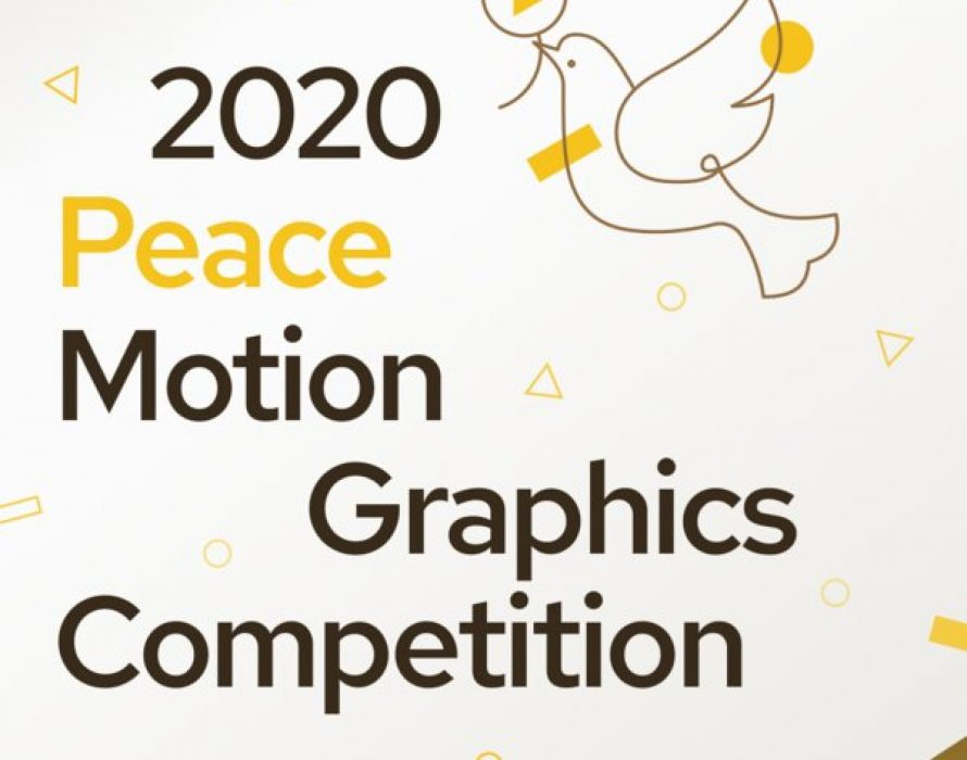 Peace Motion Graphics Competition 2020
