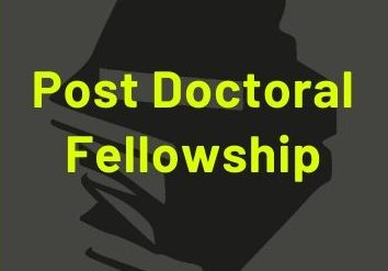 Post doctoral fellowship in India 2020