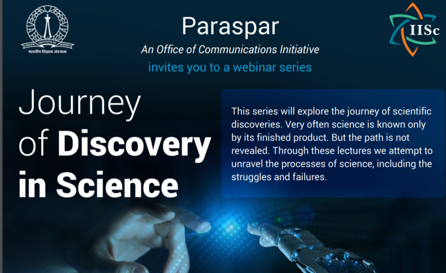 Webinar on Joy of Discovery in Modern Research
