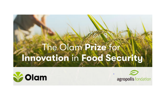 Olam Prize for Innovation in Food Security 2021 [Prizes Upto Rs. 56L]: Apply by Jan 11, 2021