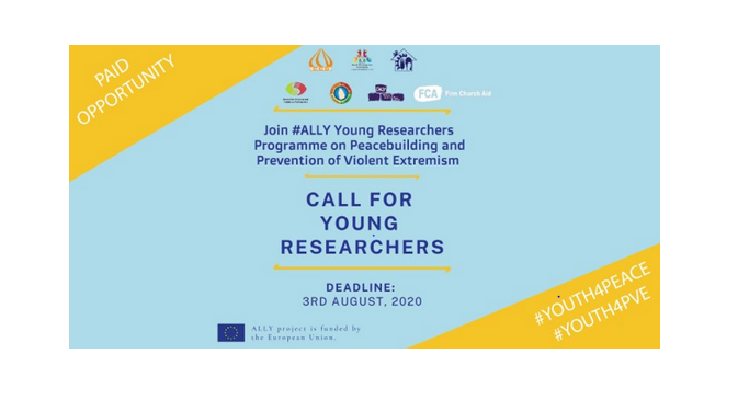 ALLY Young Researchers Program on Peacebuilding 2020 [Fully Funded]: Apply by Aug 3