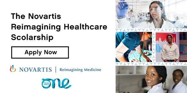 Novartis Reimagining Healthcare Scholarship [10 Scholars, Attend OYW Summit 2021 at Munich]: Apply by Sep 25