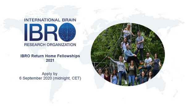Return Home Fellowships 2021 by International Brain Research Organization [Fellowship Upto Rs. 17L]: Apply by Sept 6