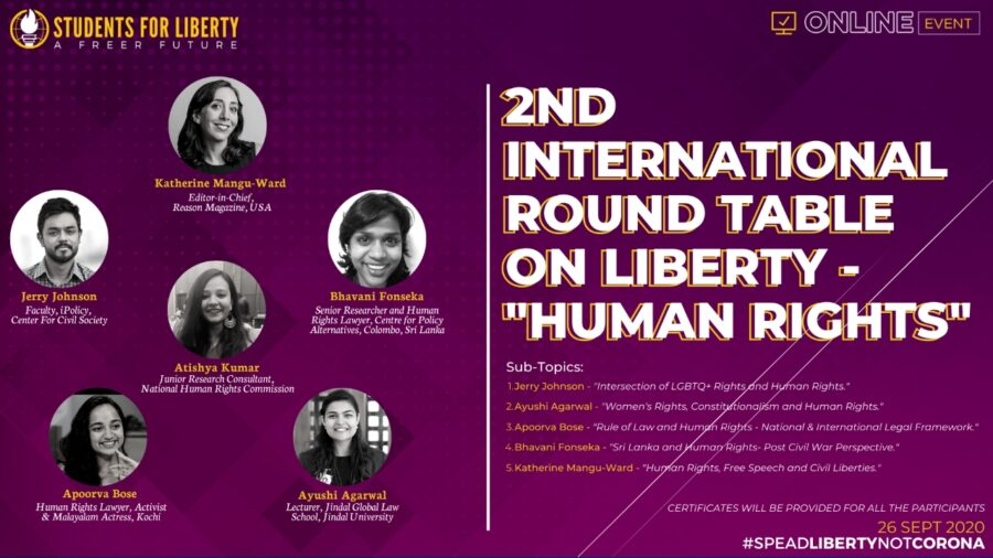 2nd International Round Table on Liberty