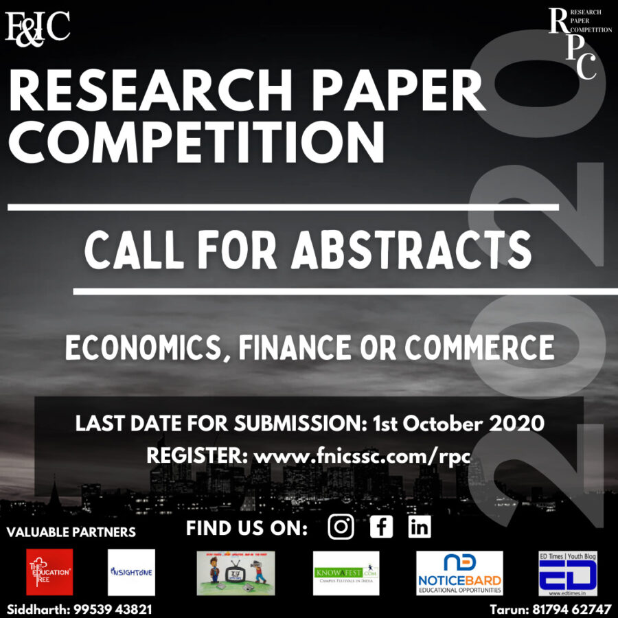 Research Paper Competition 2020