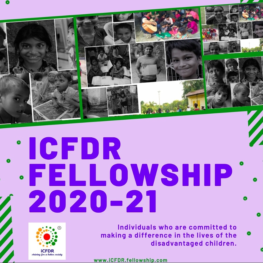 iCFDR Fellowship Program 2020
