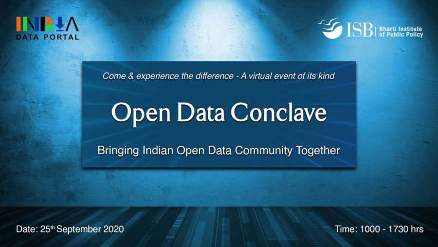 Open Data Conclave 2020