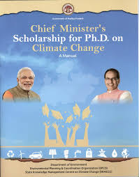 Chief Minister's Scholarship for PhD in Climate Change by Govt. of MP [Stipends Worth Rs. 25k/Month, 3 Years]: Apply by Nov 30