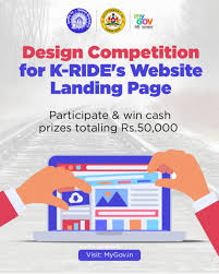 Design Competition for K-RIDE's Website Landing Page