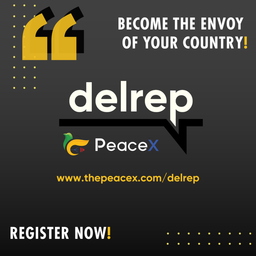 Call for Applications: PeaceX Delegate Res Publica [Country Envoy]: Apply by Nov 22